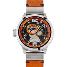 HAEMMER Automatikuhr 'Strong Desire, RS-300' orange / schwarz / silber