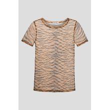 Shirt mit Animal-Print
