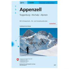 Swisstopo - 227 S Appenzell - Skitourenführer Ausgabe 2017