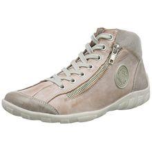 Remonte r3474, Damen Hohe Sneakers, Pink (steel/rosa/grey/31), 36 EU
