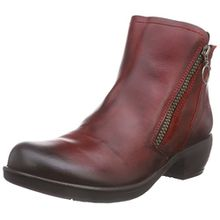 FLY London Meli, Damen Chelsea Boots, Rot (Red 001), 37 EU (4 Damen UK)