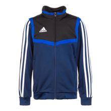 ADIDAS PERFORMANCE Trainingsjacke 'Tiro 19' blau / weiß