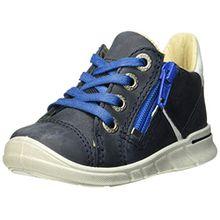 Ecco Baby Jungen First Sneaker, Blau (Marine/White), 22 EU
