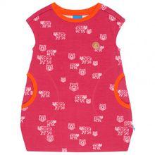 Finkid - Kid's Neiti - Kleid Gr 100/110;110/120;120/130;130/140;140/150;90/100 blau;rosa