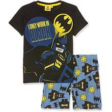 Lego BATMAN Jungen Zweiteiliger Schlafanzug 79237, Noir (Noir), 6 Jahre