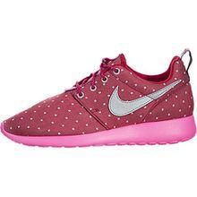 Nike Unisex-Kinder Rosherun Print GS 677784-606 Sneaker, Mehrfarbig (Pink 001), 38.5 EU