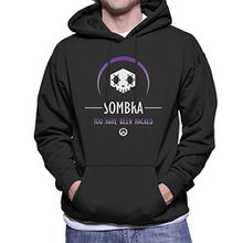 Sombra You Have Been Hacked Overwatch Men's Hooded Sweatshirt