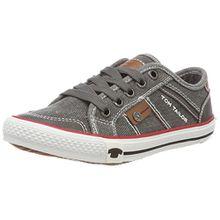 TOM TAILOR Jungen 4870001 Sneaker, Grau (Coal), 31 EU