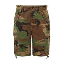 POLO RALPH LAUREN Shorts 'CFM45S-SHORT' dunkelgrün / mischfarben