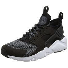 Nike Unisex-Kinder Air Huarache Run Ultra SE (GS) Sneaker, Schwarz (Black/Black-Anthracite-Cool Grey), 39 EU