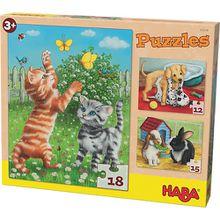 Puzzles - 12/15/18 Teile - Haustiere