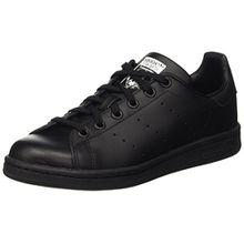 adidas Stan Smith, Unisex-Kinder Sneakers, Mehrfarbig - Schwarz/Blau/Weiß - Größe: EU 36