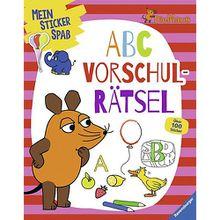 Buch - Mein Sticker Spaß Die Maus: ABC Vorschulrätsel