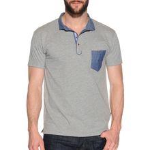 Soul Star Poloshirt in grau für Herren