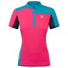 Montura - Women's Selce Zip T-Shirt - Radtrikot Gr L;M;S;XS rosa