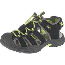 LICO Sandale 'Nimbo' schlammfarben / kiwi / schwarz