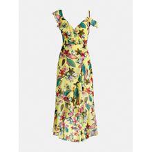 GUESS Kleid limone / mischfarben