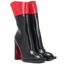 Ankle Boots Hybrid aus Leder