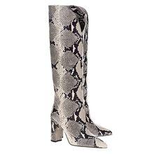Python Boots Natural Beige