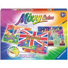 3er-Set Malset Mixxy Colors, 30x24 cm, Weltstädte