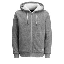 JACK & JONES Lässiges Sweatshirt Herren Grau