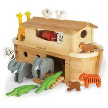 EverEarth® Spielwelt »Arche Noah in Groß mit 14 Tieren«