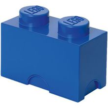 LEGO Aufbewahrungsdose Storage Brick 2er blau