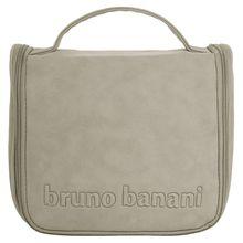 bruno banani Kulturbeutel grau Herren