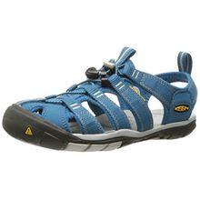 Keen Damen Clearwater CNX Sandalen Trekking-& Wanderschuhe, Blau (Celestial/Vapor), 37.5 EU