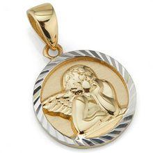 GOLDRAUSCH Anhänger Engel mindestens 1,15g Gold 585