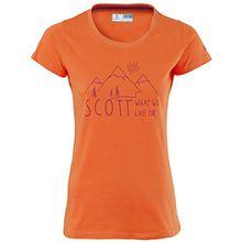 Scott Girls T-Shirt Promo MTN Orange Gr. XL