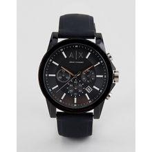 Armani Exchange – AX1326 – Outerbanks – Uhr mit Silikonarmband-Schwarz