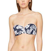 Seafolly Damen Bikinioberteil Strapless Bustier, Blau (Royal Horizon), 38 (Herstellergröße: 12)