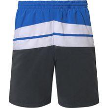 FASHY Badeshorts blau / schwarz / weiß