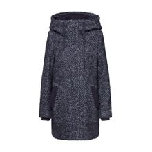 ESPRIT Mantel 'Hooded Coat' dunkelgrau