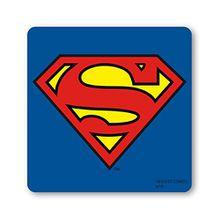 Superman Logo Untersetzer – Bierdeckel – DC-Comics - blau - Lizenziertes Originaldesign - LOGOSHIRT