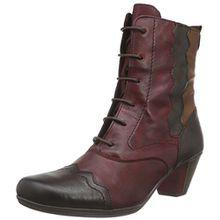 Remonte D1271, Damen Combat Boots, Mehrfarbig (havanna/vino/antik/chestnut/wine/35), 41 EU (7.5 Damen UK)