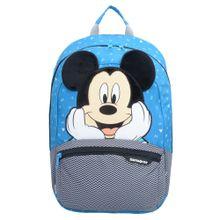 SAMSONITE Rucksack 'Disney Ultimate 2.0' blau / pastellgelb / schwarz / weiß