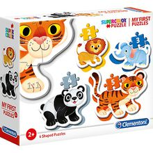 My frist Puzzles 2/3/4/5 Teile - Wildtiere