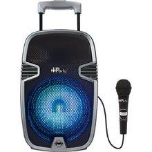 Karaoke Anlage mit Bluetooth und Beleuchtung