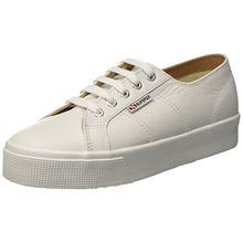 Superga Unisex Erwachsene 2730 Nappaleau Sneaker, White (White), 39.5 EU