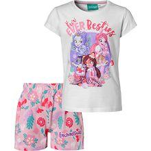 Enchantimals Kinder Schlafanzug rosa/weiß Mädchen Kleinkinder