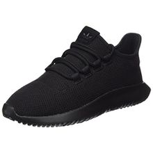 adidas Unisex-Kinder Tubular Shadow Sneaker, Core Black/Footwear White, 39 1/3 EU