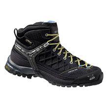 Salewa WS FIRETAIL EVO MID GTX, Damen Trekking- & Wanderstiefel, Schwarz (0923 Black/Gneiss), 37