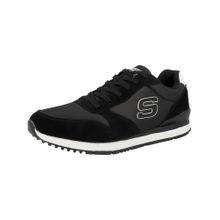 SKECHERS Sneaker 'Sunlite' schwarz / weiß
