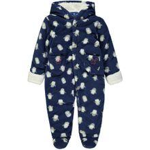 TOM TAILOR Baby Overall mit Kapuze nachtblau