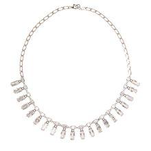 Halskette aus Sterlingsilber mit Zirkonen