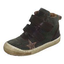 Bisgaard Unisex-Kinder Klettschuhe Hohe Sneaker, Grün (1006-1 Army), EU 34