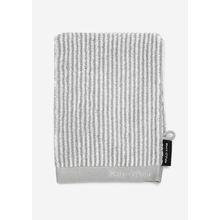 Marc O'Polo Waschhandschuh Grau/Weiß