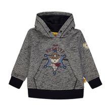 STEIFF Sweatshirt grau / schwarz